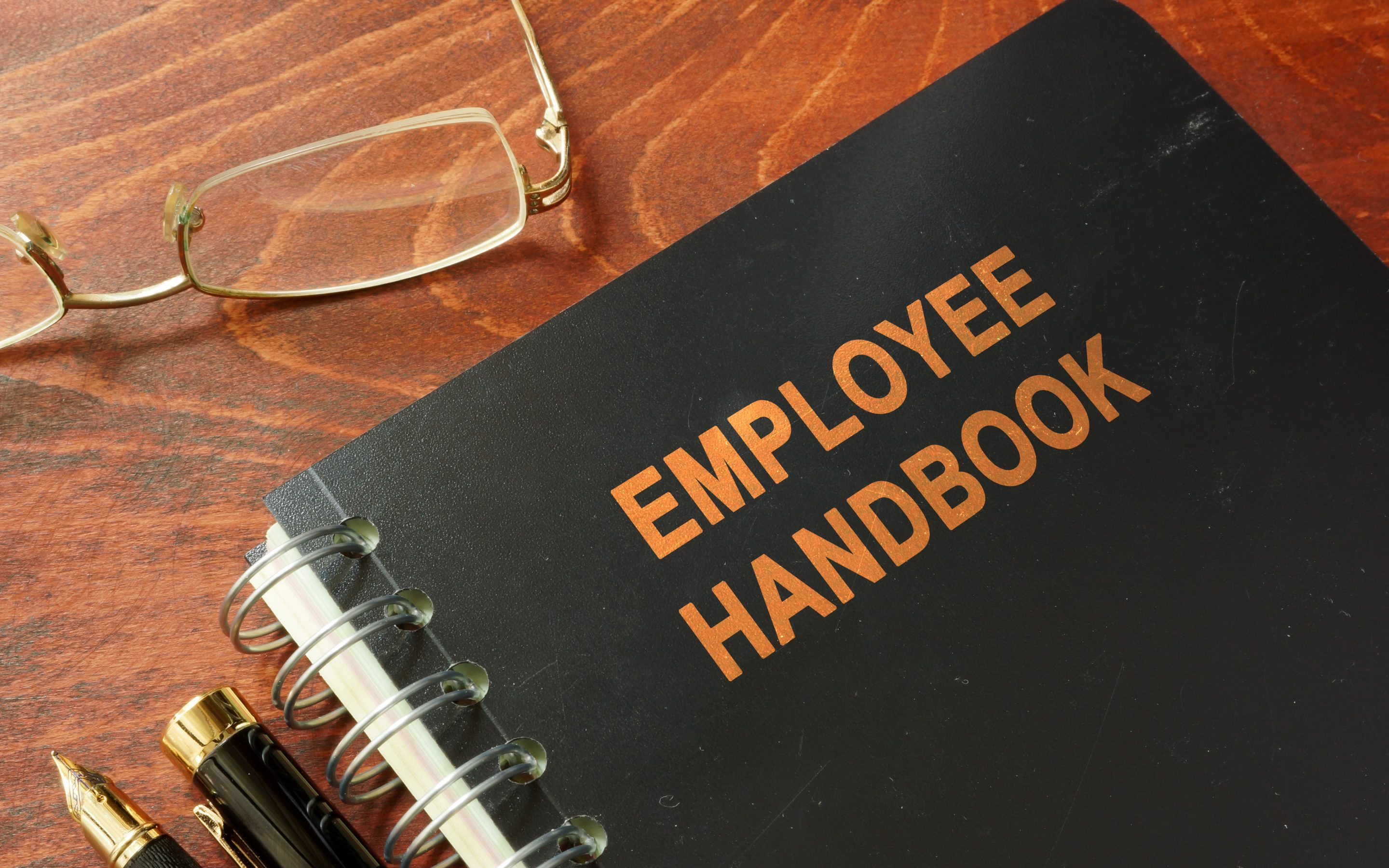 April: Annual reviews of employee handbooks are essential